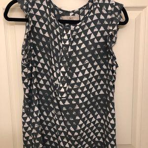 Printed Loft blouse